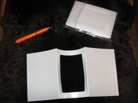 Perleťové rámečky/obálky na oznámení či foto,