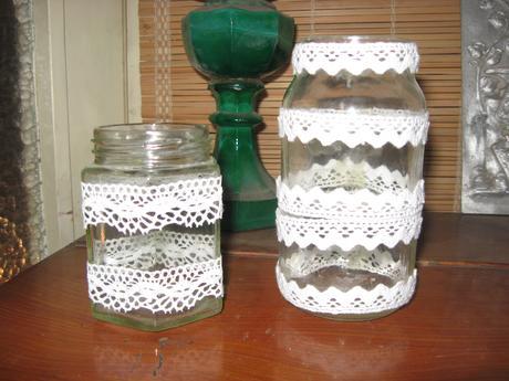 Svícínky na čajovky,