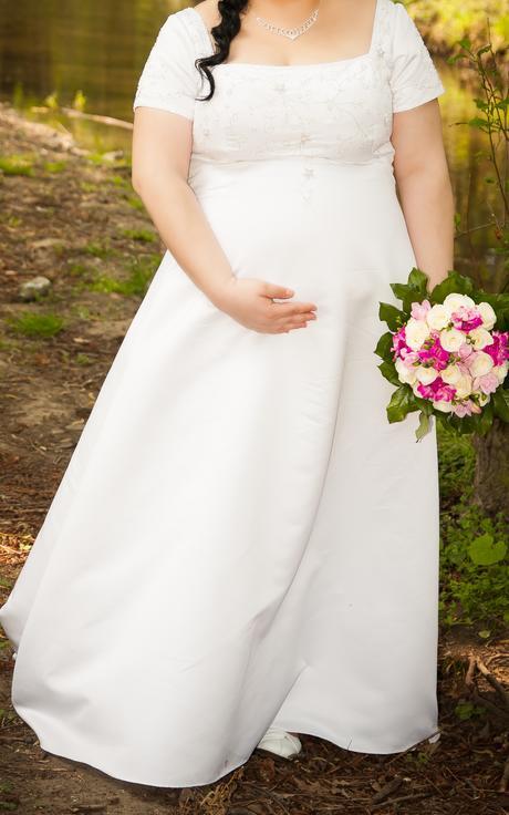 Svatební šaty vel. 52, 52