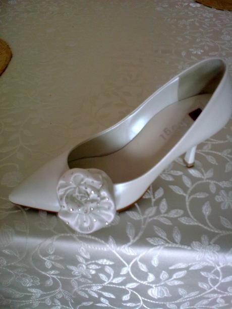 svadobné topánky hogl so swarovski kryštálikmi, 36