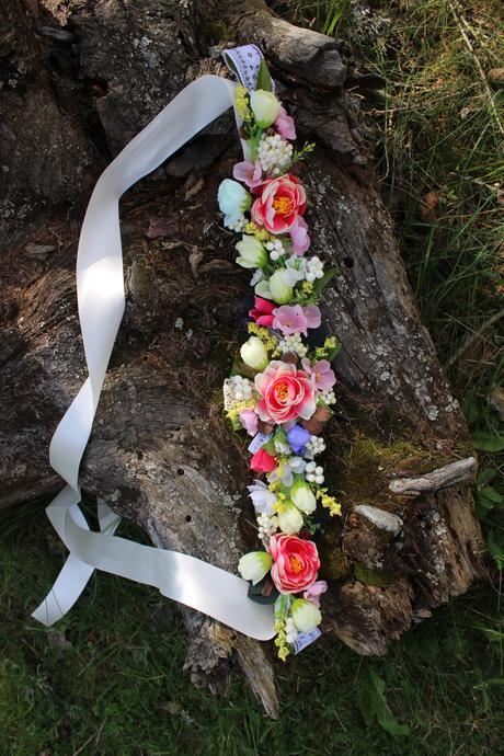"""Kvetinový opasok """" Umenie malých krokov """","""