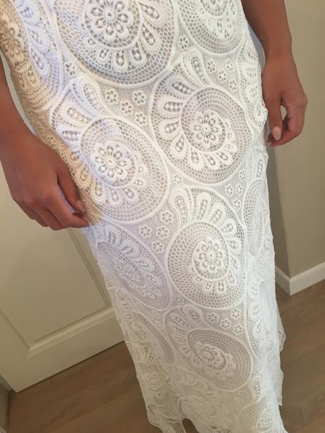 Bohémske svadobné šaty veľkosť 36-38, 36