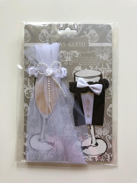 Ozdoby na sklenice ženicha a nevěsty,