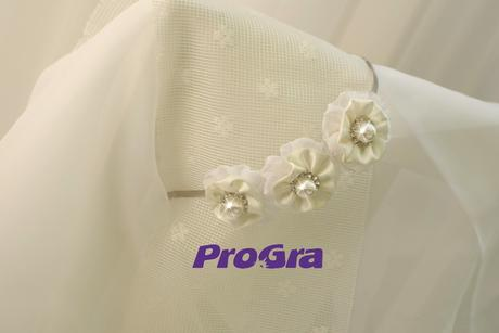Perličková - svadobná čelenka,
