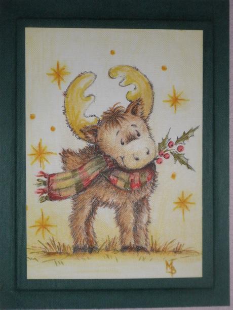 Vianočný obrázok,