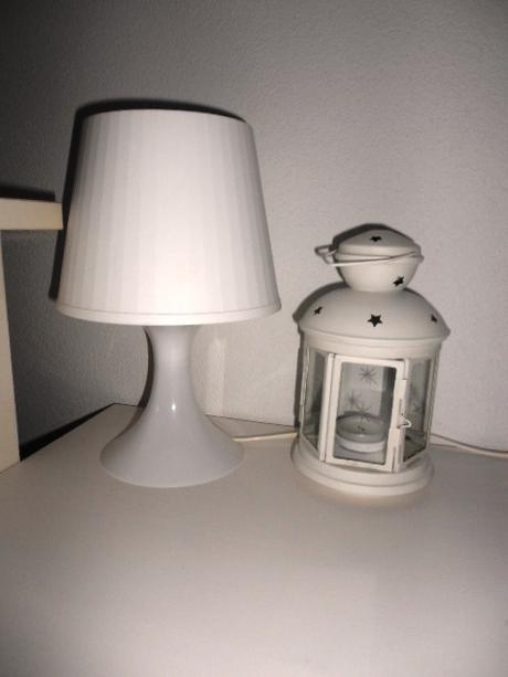 Biela lampa Ikea - nepoužitá,