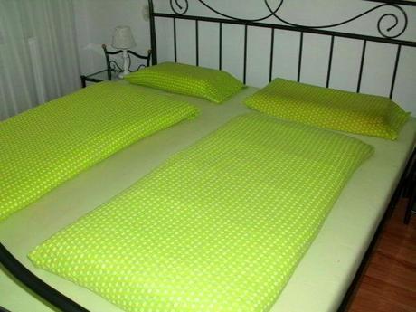 Kvalitná hrubá froté dvojpachta na manž.posteľ,