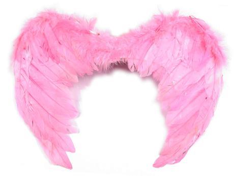 andělská křídla růžová - rekvizita na focení,
