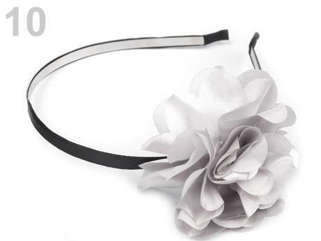 čelenka pro svatební družičky, barva bílá,