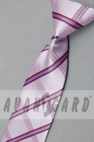 chlapecká kravata fialková,