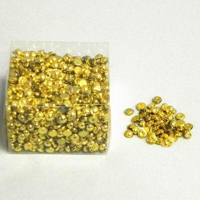 dekorační kapky, zlaté,