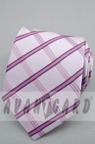kravata pánská svatební, fialová,