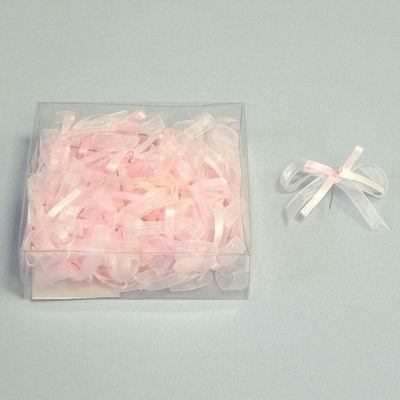 mašlička - svatební vývazek, růžový,