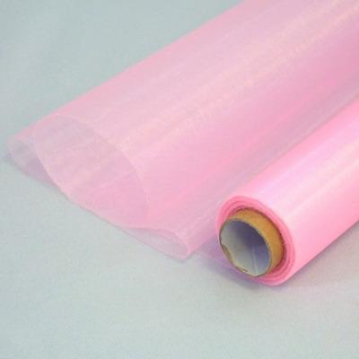 organza š.36 cm, sv. růžová,