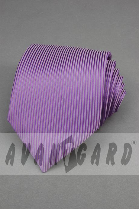 pánská svatební/společenská kravata fialová,
