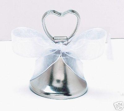 svatební zvonek-stojánek na jmenovku,