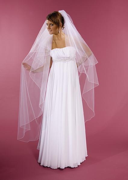 závoj svatební, délka 170 cm,