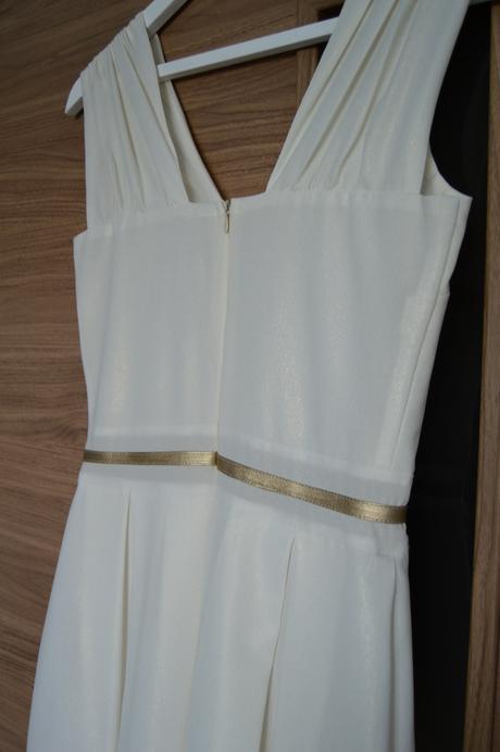 Bielo-zlaté spoločenské šaty, 36