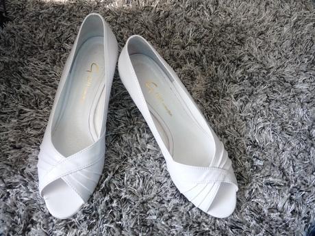 Pohodllné svadobné topánky, 38