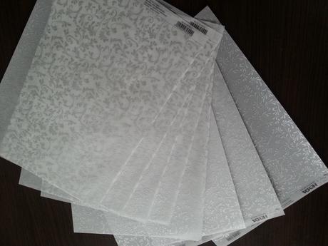 Transparentný ozdobný papier,