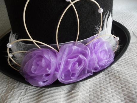 Cylindr - lila růže,