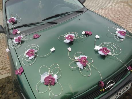 Svatební dekorace _ orchideje,