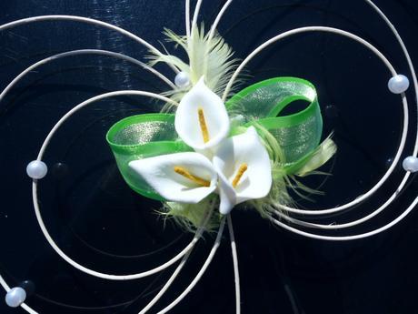 Svatební dekorace - kaly,