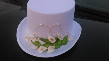 svatební dekorace kaly,