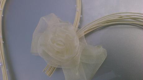 Svatební dekorace - smetanová,