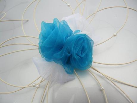Svatební dekorace - tyrkys,
