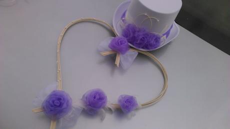 Svatební sada lila,