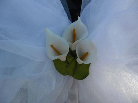 Svatební sada s kalami,