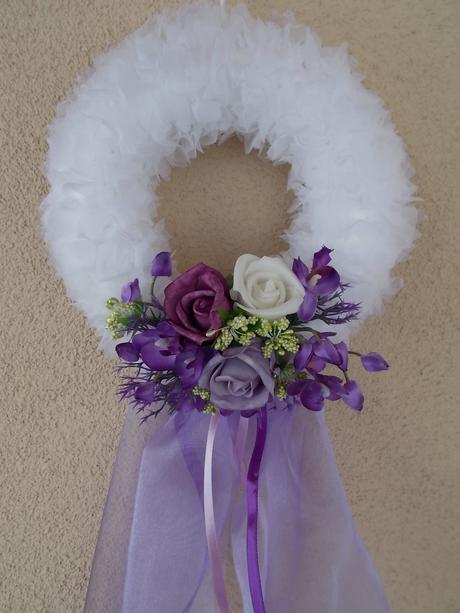 Věneček na dveře nevěsty,