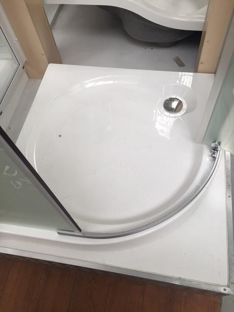 Sprchovy kut - vanicka stvrtkruh 90x90cm,