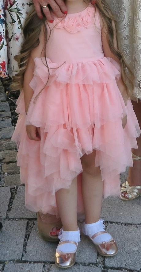 Šaty pre malú družičku, 98