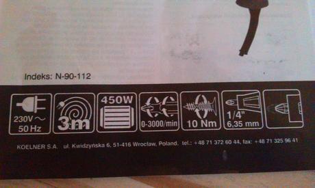 Elektricka utahovačka-šrobovačka nepoužita,