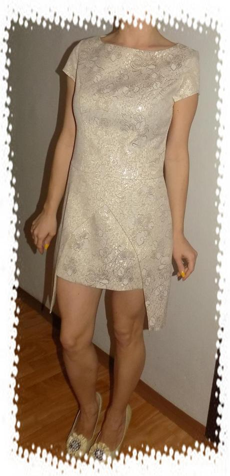 Exkluzívne perleťové šaty, M