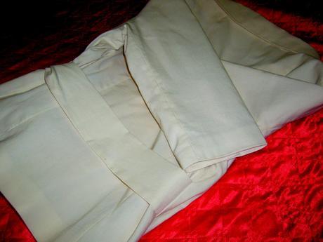 Kvalitné bavlnené sako pre nevestičku, 40