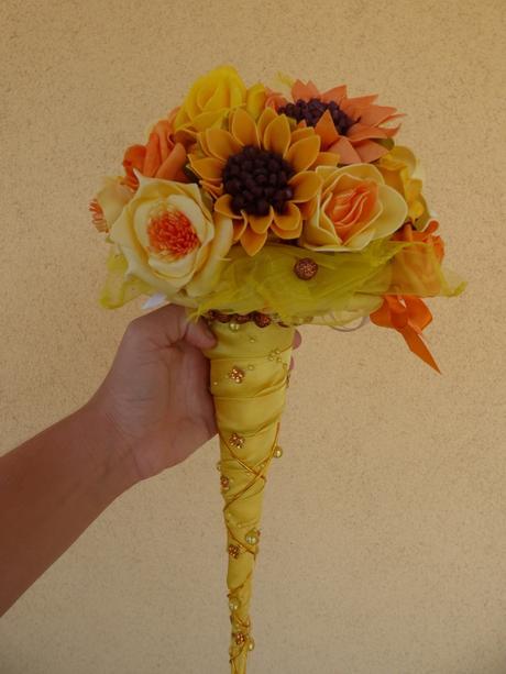 slnečnicová kytica,