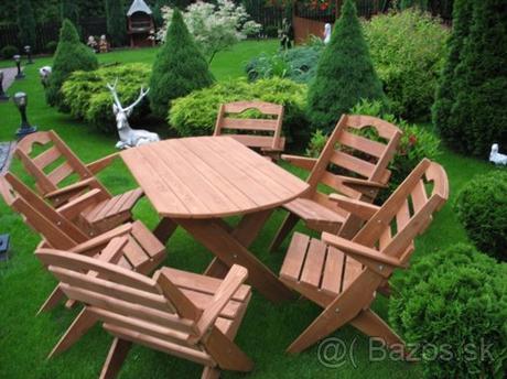 záhradné sedenie ,