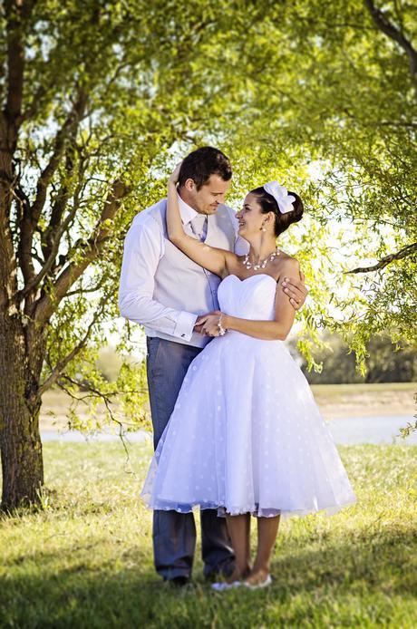 Originalne svadobne saty, 38