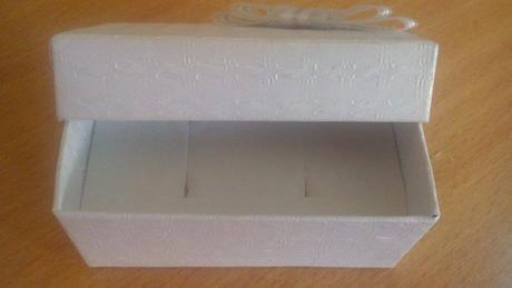 Krabička na obrúčky,