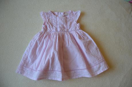 Next šaty světle růžové na 6-9 m, 74