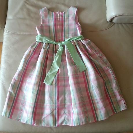 Slavnostní šaty se stuhou na 8 let, 128