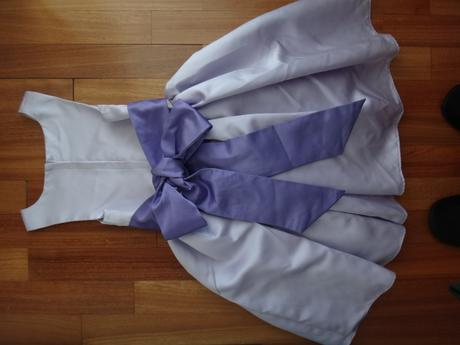 Dětské svatební šaty (5-7 let), 122