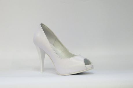 Cinderella dámská bílá svatební obuv, 40