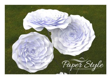 Kvetinová dekorácia www.paperstyle.sk,