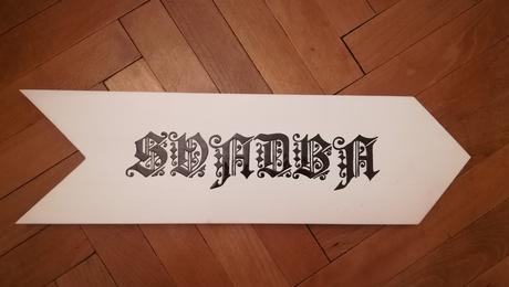 """Tabulka """"SVADBA"""","""