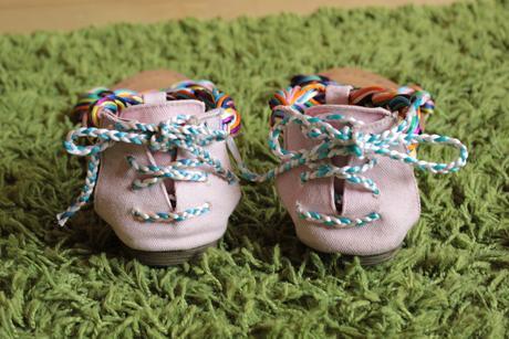Barevné sandálky, 40