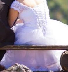 Svatební saty 38 - 42, 38